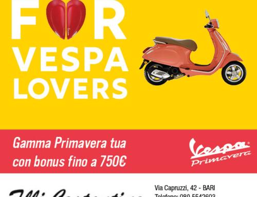 TUTTA LA GAMMA VESPA GTS CON 700 EURO DI BONUS
