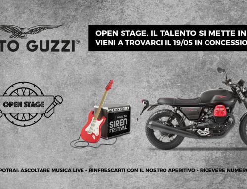METTI IN MOTO IL TUO TALENTO !!  OPEN STAGE MOTO GUZZI