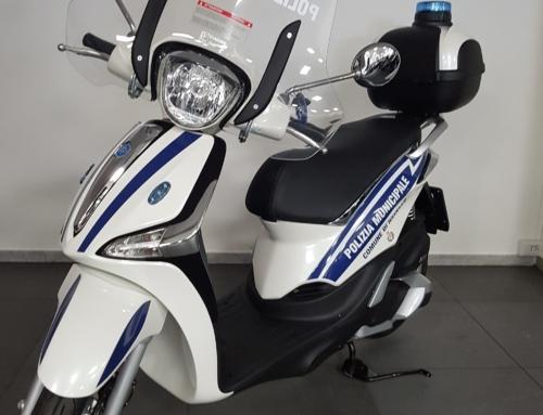 Piaggio New Liberty 125 cc 4-tempi Police Euro 4